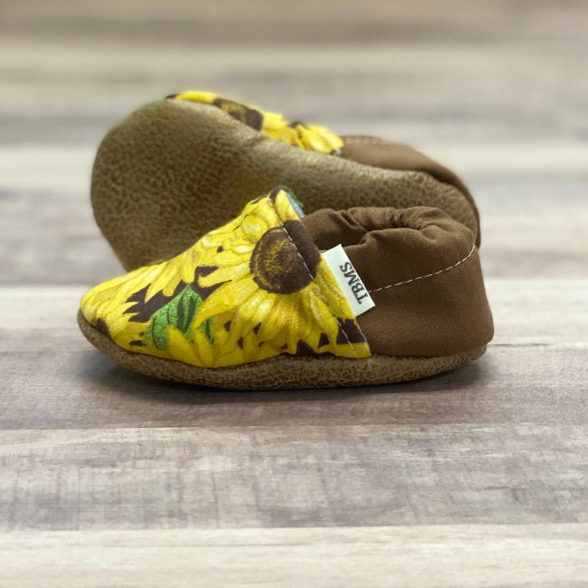 Sunflower Moccasins