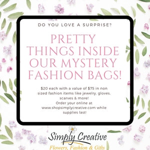 Mystery Fashion Accessory Bag