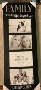 Family Frame where life begins
