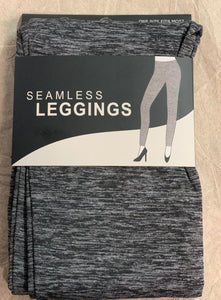 Mirabeau Black/Grey Leggings One Size