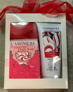 Cashmere Soap & Lotion Set