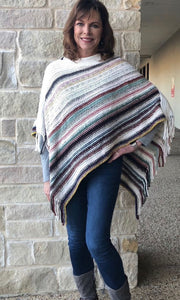 Giving Chenille Poncho