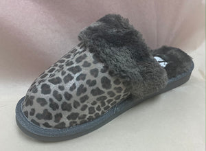 Corkys Leopard Print Snooze Slippers