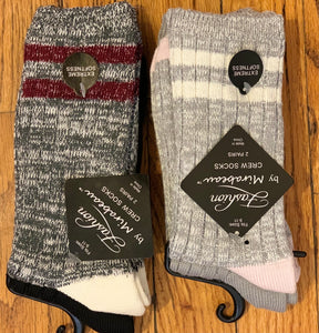 Striped Socks with Sparkle 2 pk