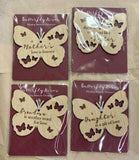 Butterfly Kisses Ornaments
