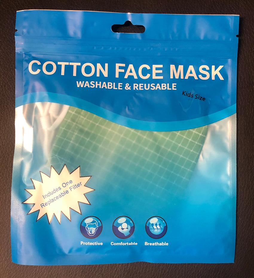 Kids Washable and Reusable Cotton Face Mask