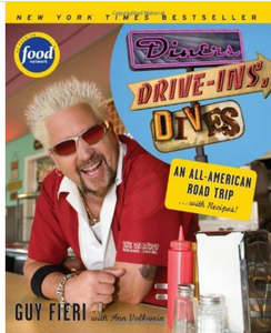 Diners Drive-ins and Dives Cookbook by Guy Fieri