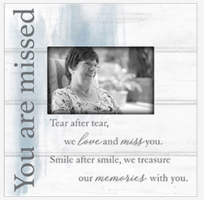 You Are Missed Memory Frame