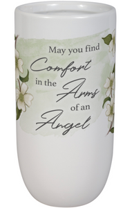 Arms of an Angel Memory Vase