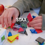 STAX magnetic building blocks
