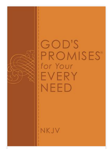 Gods' Promises for Your Every Need Book