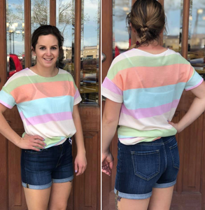 Summer Stripe Top