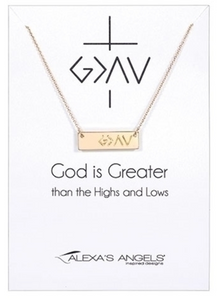 God Is Greater Than Necklace