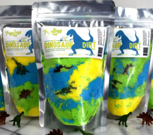 Dinosaur Dirt Bath Salts