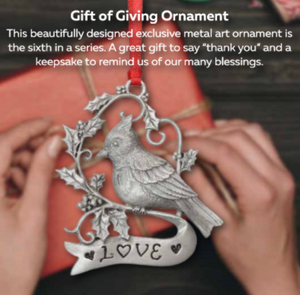 Gift of Giving Ornament