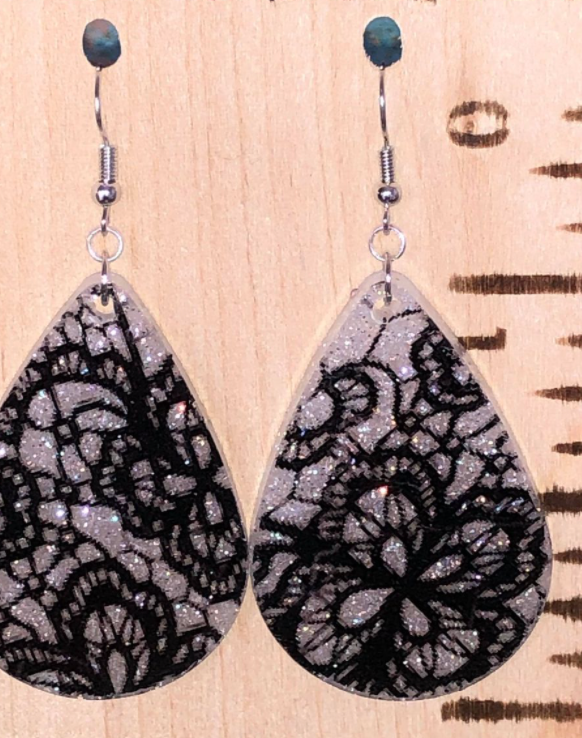 Lace Drop Earring