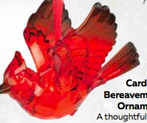 Cardinal Bereavement Ornament