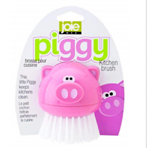 Piggy Kitchen Scrub Brush