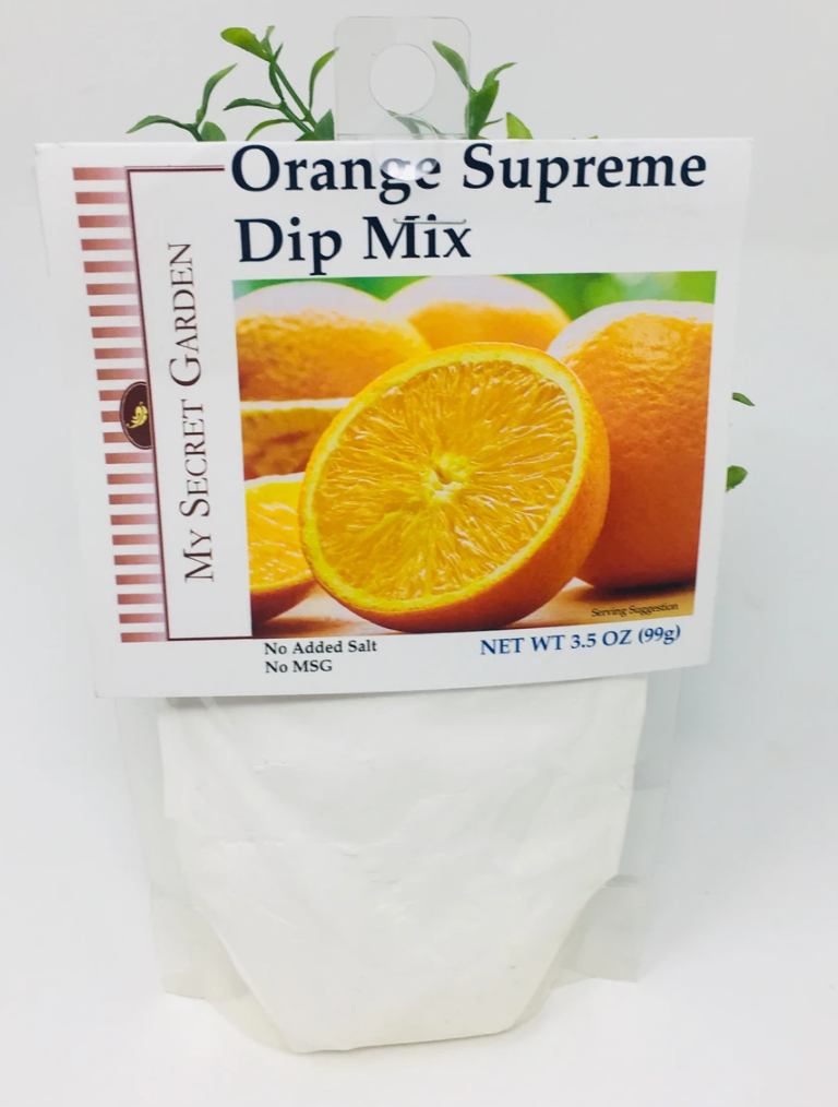 Orange Supreme Dip Mix