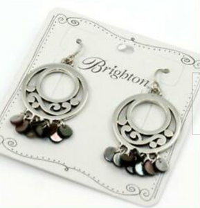 Brighton Contempo Shell Earrings