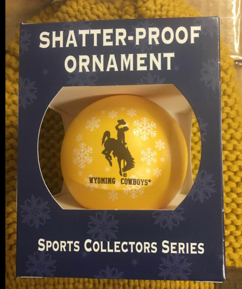 Wyoming Shatterproof Ornament