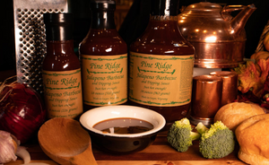 Wyoming Pine Ridge BBQ Sauce & Mustards