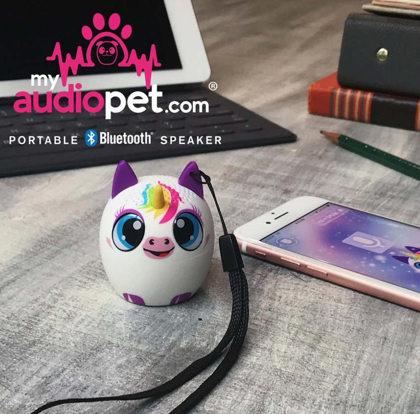 Audio Pet Bluetooth Speaker-Unicorn