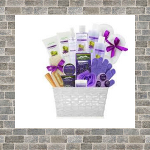 Custom Designed Pampering Bath Basket