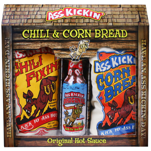Ass Kickin Chili & Cornbread Set