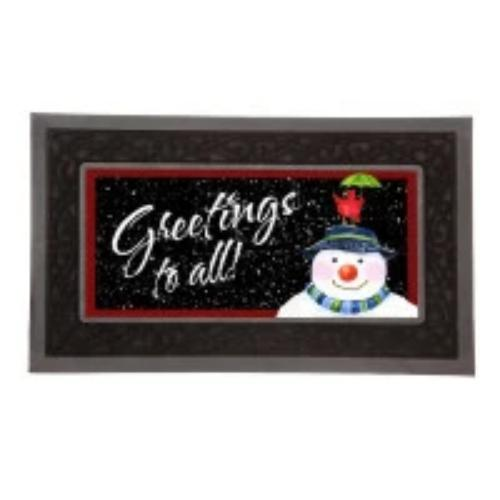 Rubber Switch Doormat Frame (insert an additional $9.99)