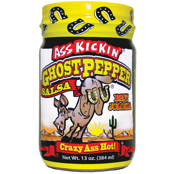 Ass Kickin Ghost Pepper Salsa set of 2
