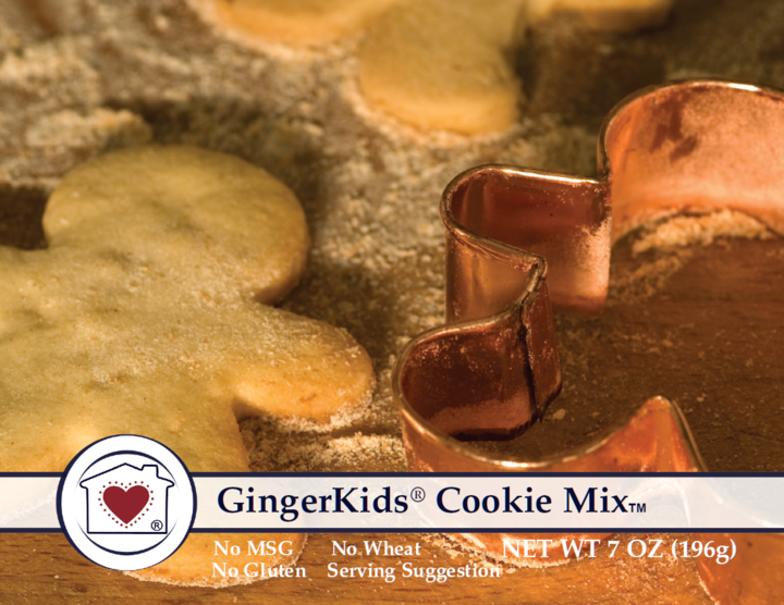 Gingerbread Cookie Mix Kit