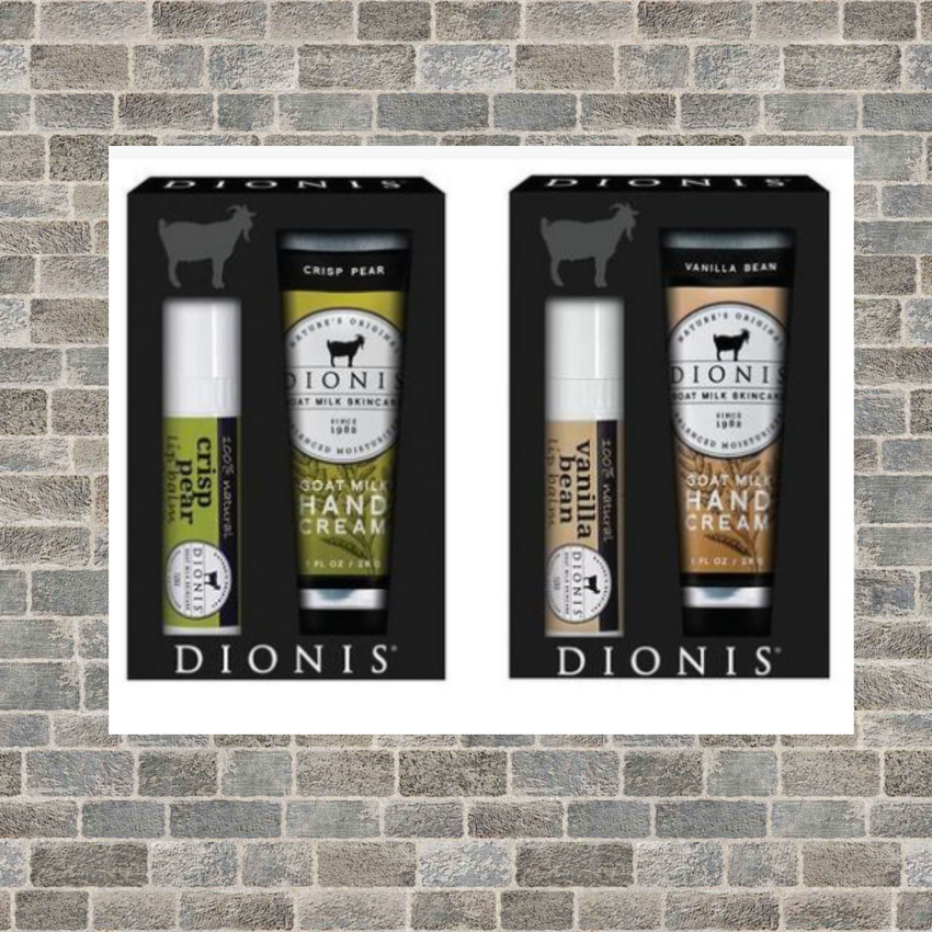 Dionis Goat Milk Lip Care & Lotion Set