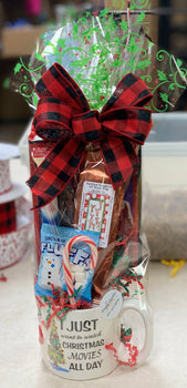 Christmas Movie Gift Basket