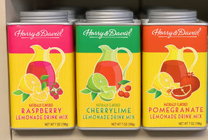 Harry & David Lemonade Drink Mixes