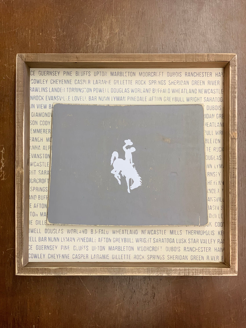 Wyoming Box Sign