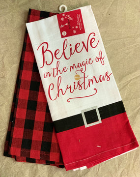 Set of 2 Holiday Towels