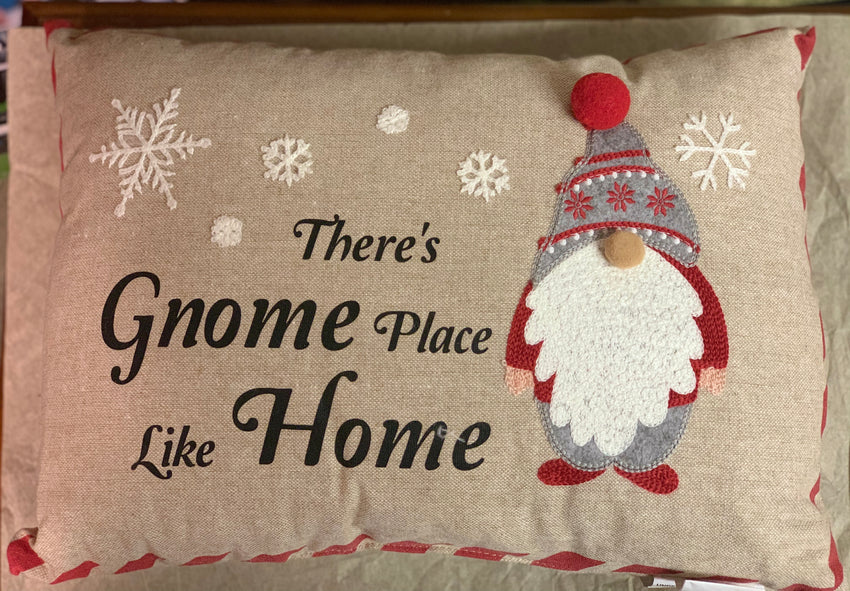 Gnome Place like Home Pillow-SALE
