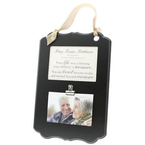 Personalized Hanging Frame from Kindred Hearts