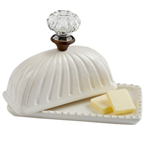 Mud Pie Doorknob Butter Dish