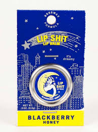 Blue Q Lip Shit Lip balm