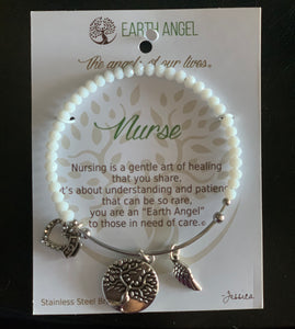 Earth Angel Nurse Bracelet