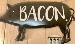 Farmhouse Pig Sign