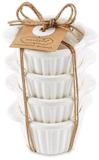Mud Pie Four Piece Butter Set