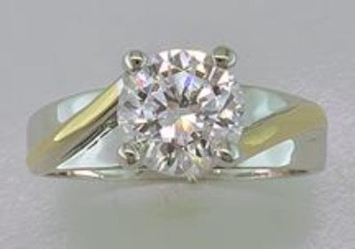Genuine Cubic Zirconia Ring Style 5
