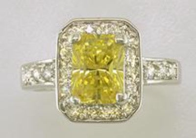 Genuine Cubic Zirconia Ring Style 6