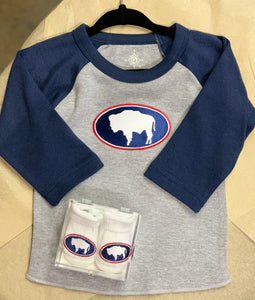 Wyoming Buffalo Baby Gift Set