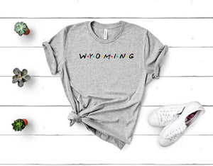 Wyoming Friends tee
