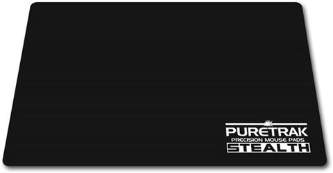 PureTrak Stealth Cloth Gaming Mouse Pad