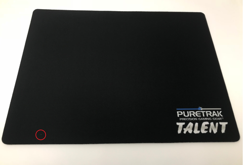 Talent BLACK Cloth Gaming Mouse Pad (Imperfect)